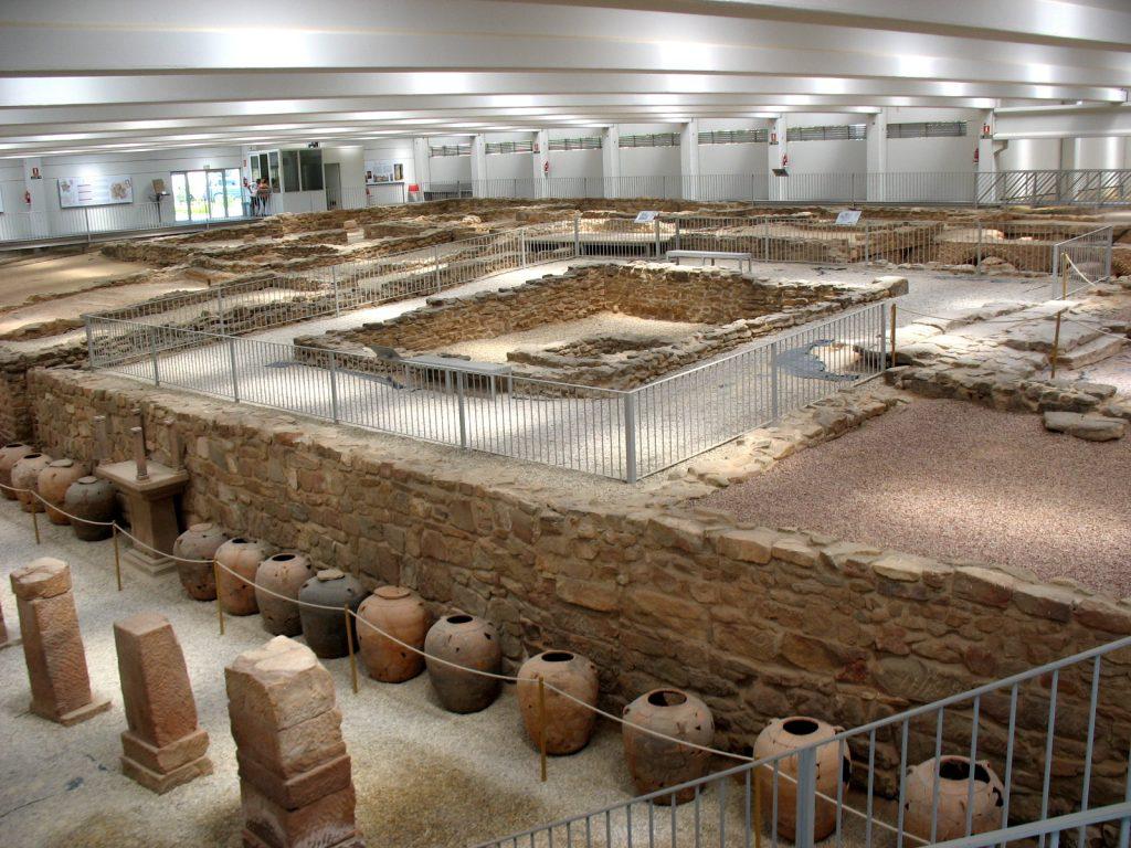 Villa romana de las Musas en Arellano